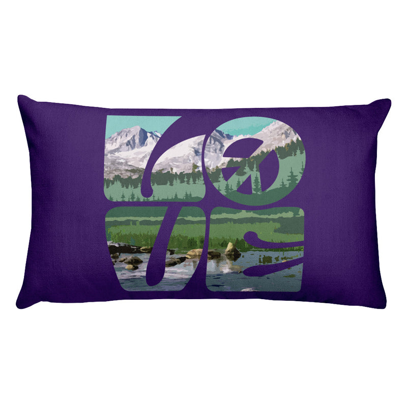 Love Gaia - Premium Pillow - StarSeed Gear