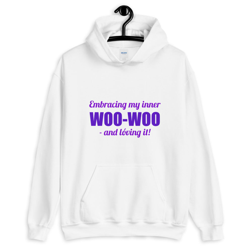 Embracing My Inner Woo-Woo - Women's Hoodie - StarSeed Gear