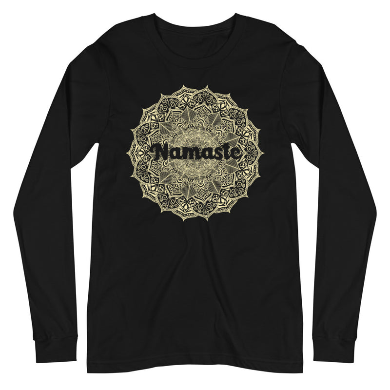 Namaste - Women's Soft Long Sleeve Tee - StarSeed Gear