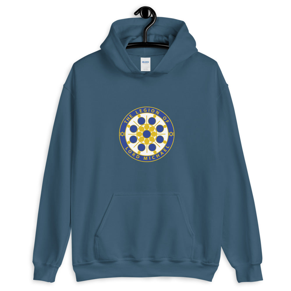 Archangel Michael Seal - Women's Hoodie - StarSeed Gear
