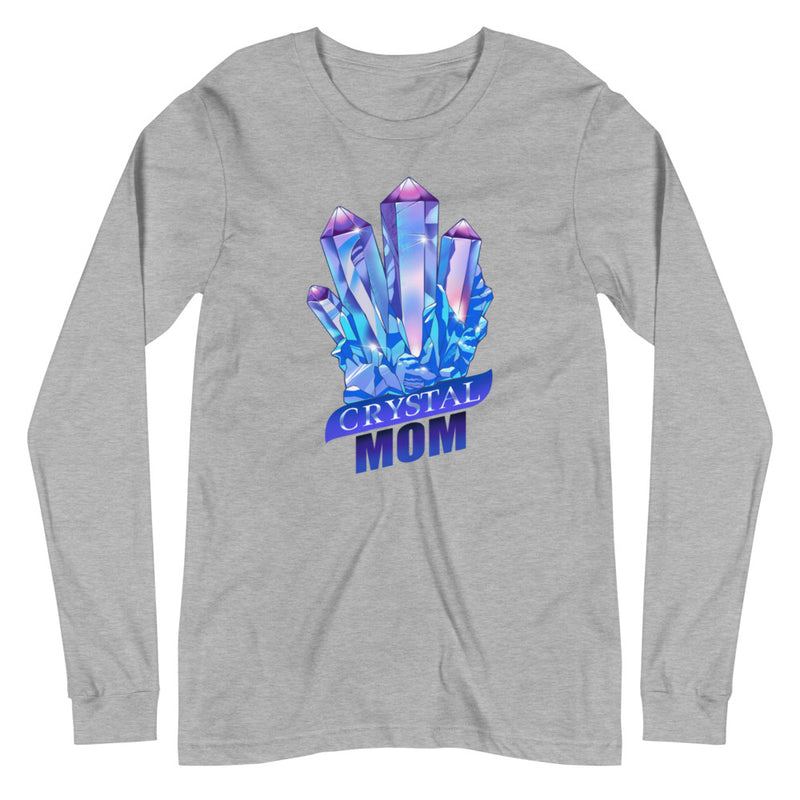 Crystal Mom - Women's Soft Long Sleeve Tee - StarSeed Gear