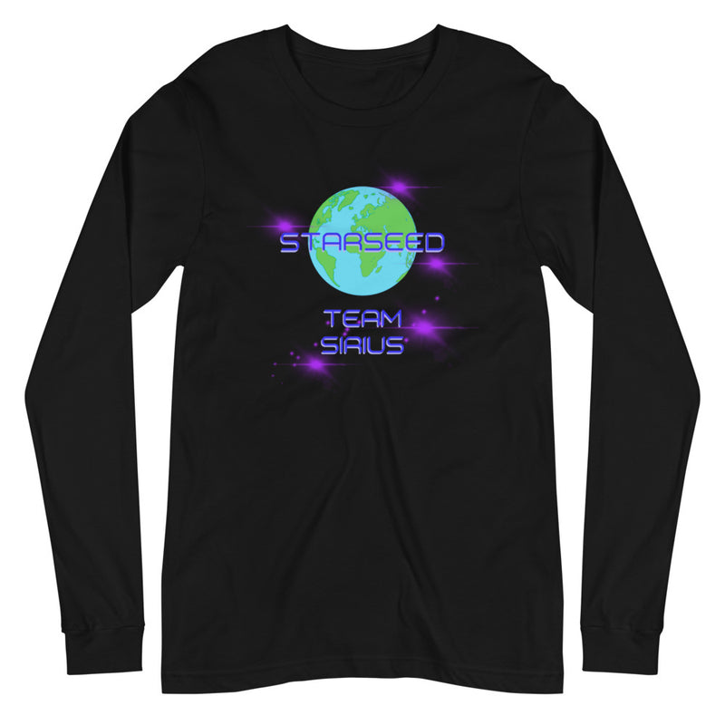 StarSeed Team Sirius - Women's Soft Long Sleeve Tee - StarSeed Gear