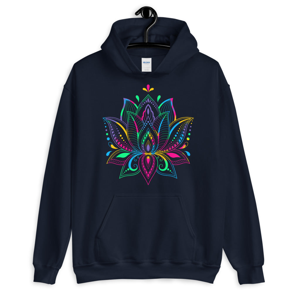 Colorful Lotus - Women's Hoodie - StarSeed Gear