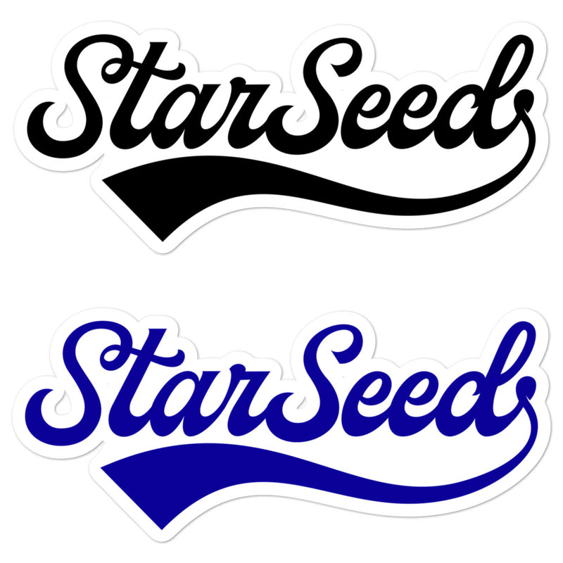 StarSeed Vintage - 3x3 and 5.5x5.5inch Bubble-Free Sticker - StarSeed Gear