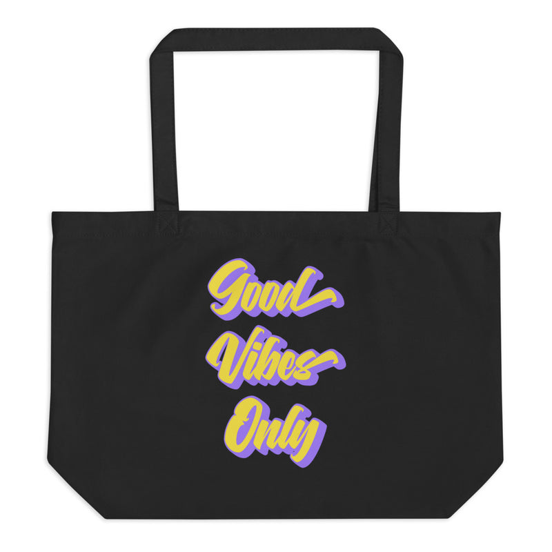 Good Vibes Only - Organic Twill Tote Bag - StarSeed Gear