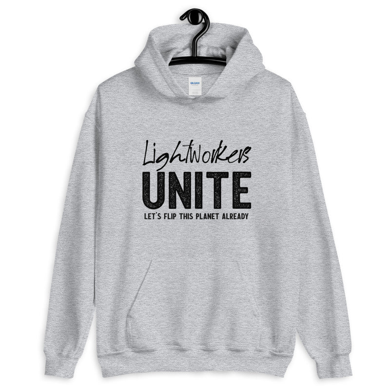 Lightworkers Unite - Men's Hoodie - StarSeed Gear