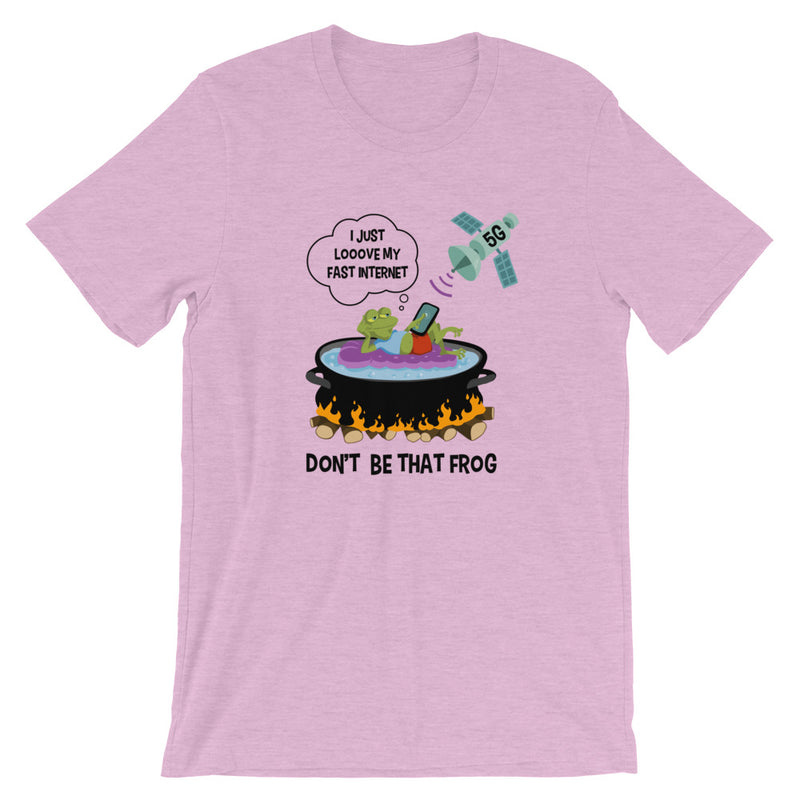 Don't Be That Frog - Women's Soft Tee - StarSeed Gear