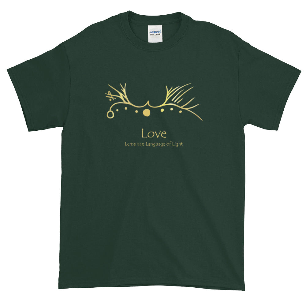 Lemurian Light Language Love - Men's Classic Tee - StarSeed Gear