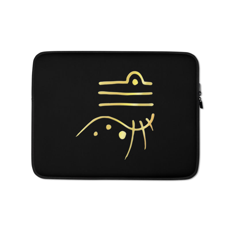Lemurian Light Language Harmony - Laptop Sleeve - StarSeed Gear