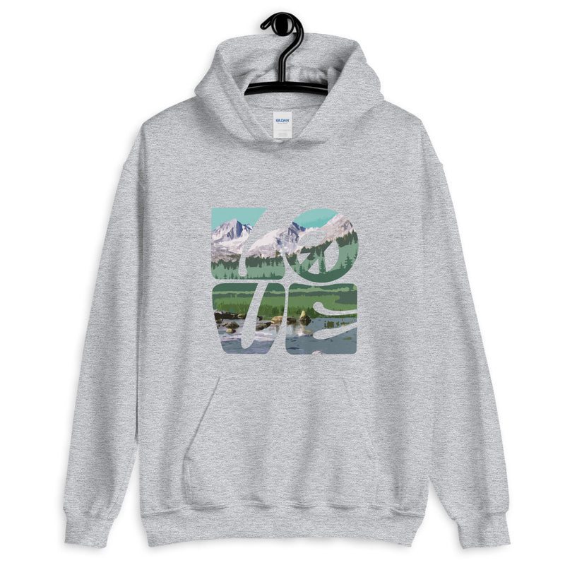 Love Gaia - Men's Hoodie - StarSeed Gear