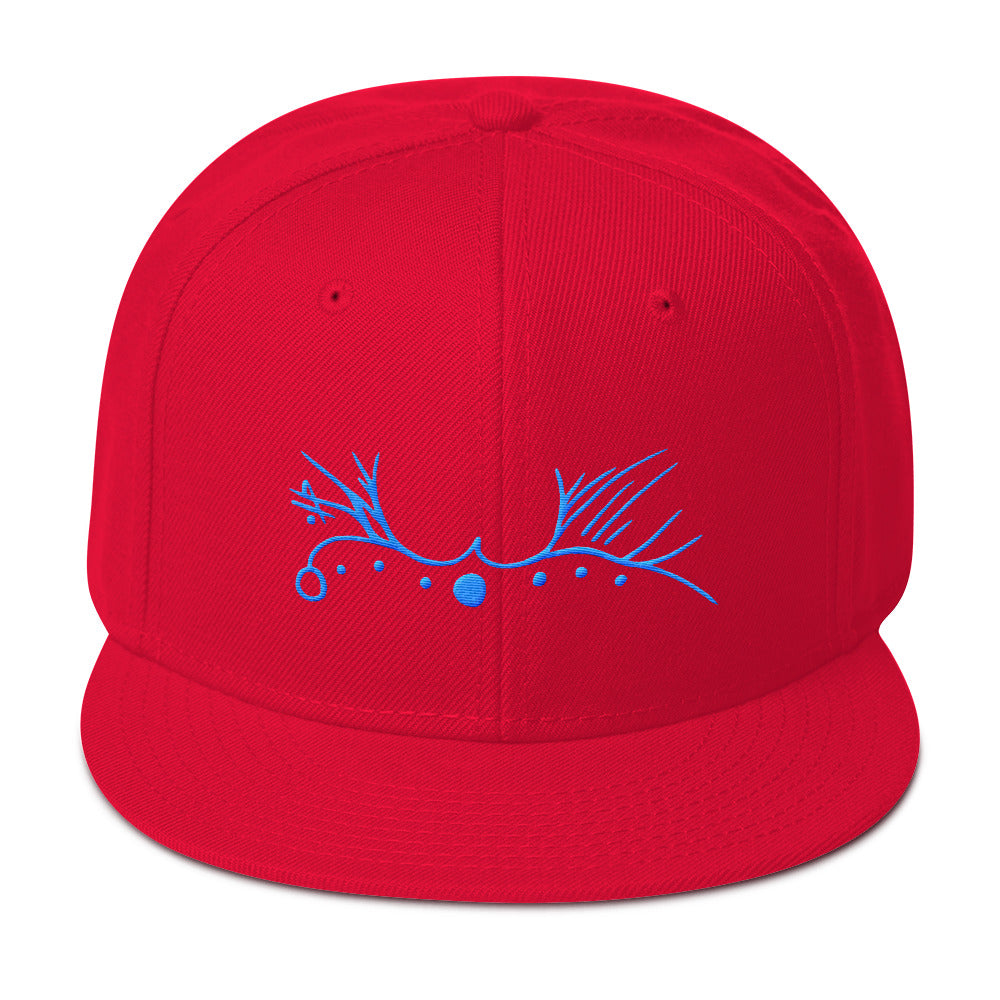 Lemurian Light Language Love Aqua - Snapback Hat - StarSeed Gear