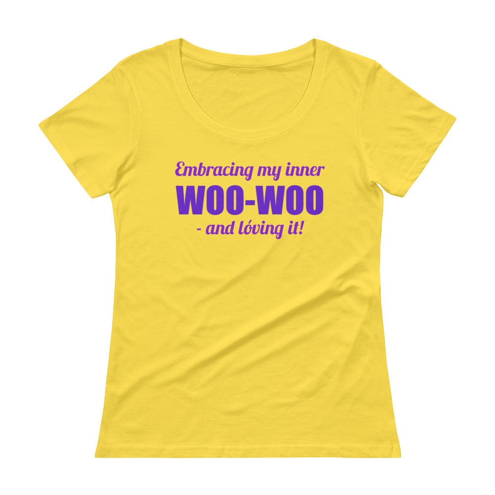 Embracing My Inner Woo-Woo - Women's Scoop Tee - StarSeed Gear