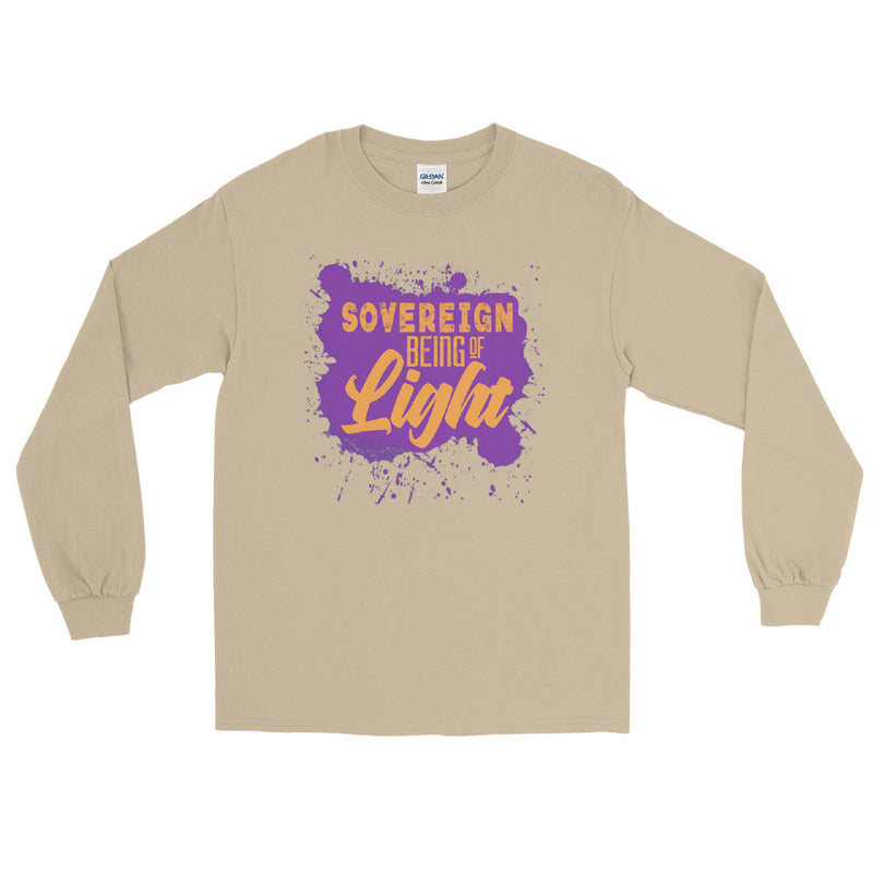 Sovereign Being of Light - Men's Classic Long Sleeve Tee - StarSeed Gear