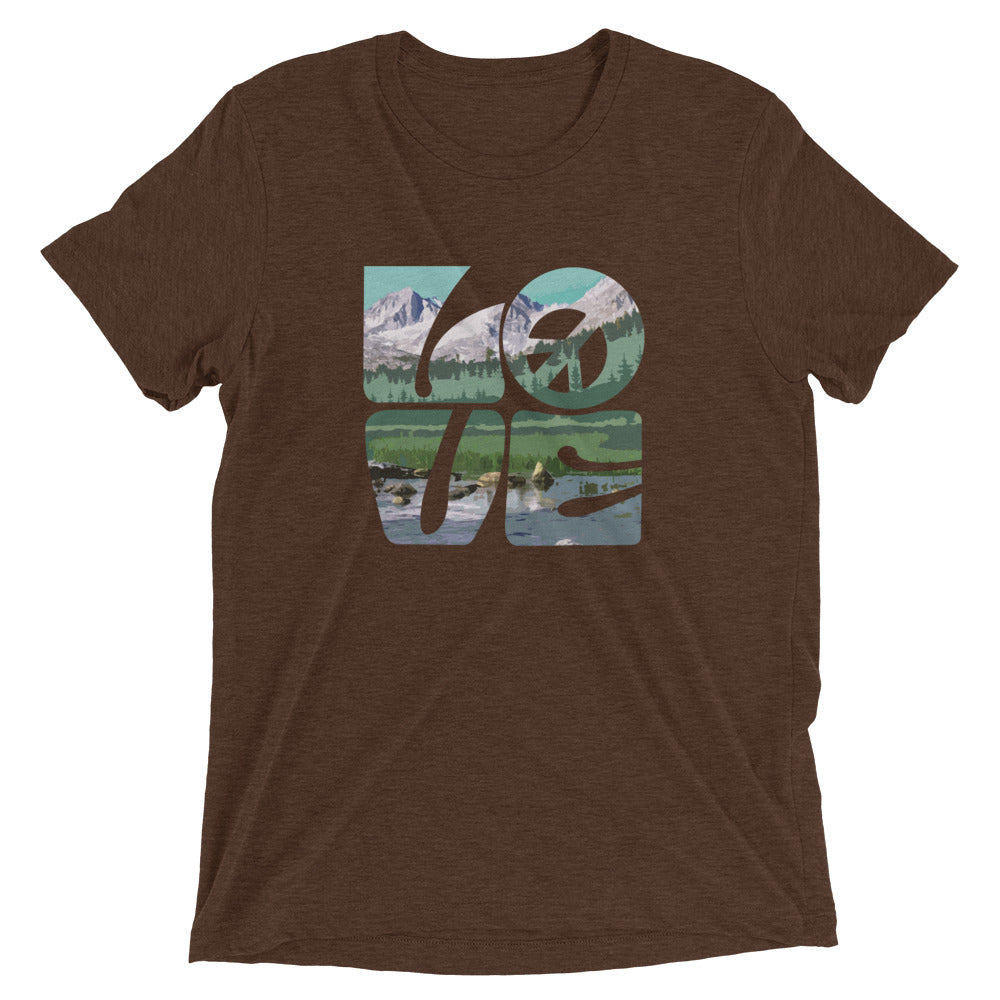 Love Gaia - Men's Super Soft Tee - StarSeed Gear