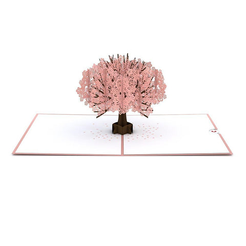 Cherry Blossom Pop Up Card - Cherry Blossom 3D card
