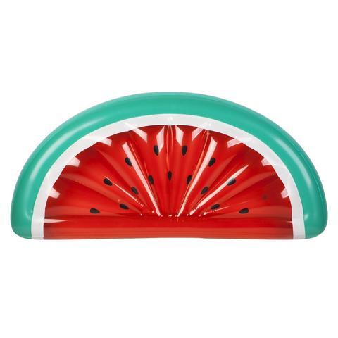 Inflatable Pool Float - Luxe Lie-On Float Watermelon