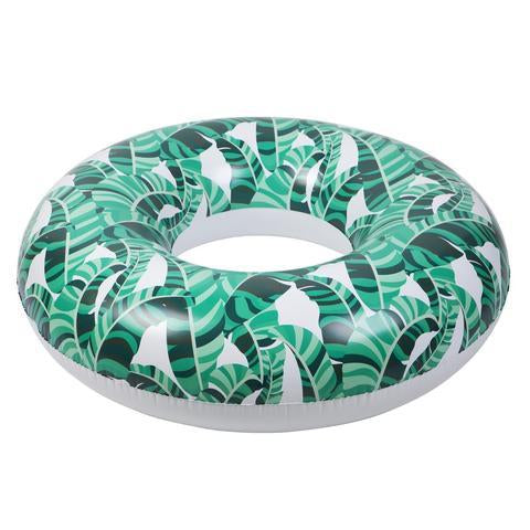 Inflatable Pool Float - Pool Ring Banana Palm