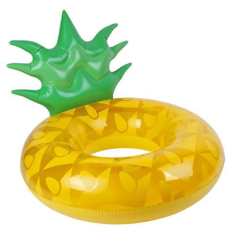 Inflatable Pool Float - Pool Ring Pineapple