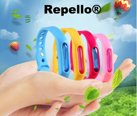 Mosquito Repellent Bracelet - Human Anti-Flea, Tick, & Mosquito Bracelet (Advanced Protection)