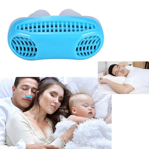 2 in 1 Anti Snoring and Air Purifier - Sleep Aid Mute Snore - Anti Snoring Device