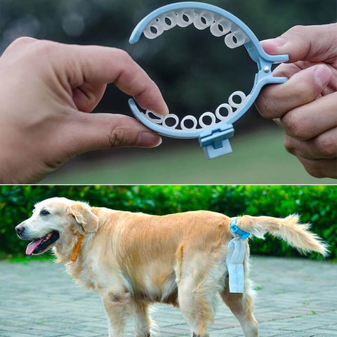 Dog Waste Bag Clip