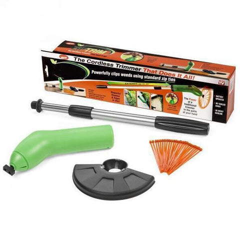 Zip Trim Cordless Edger Trimmer - Portable Garden Grass Trimmer