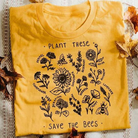 Plant These Save The Bees
