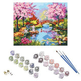 Paint by Numbers Kit - Van-Go - Cherry Blossom