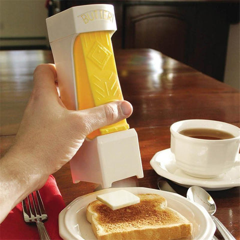 One Click Stick Butter Cutter - Stainless Steel Butter Slicer