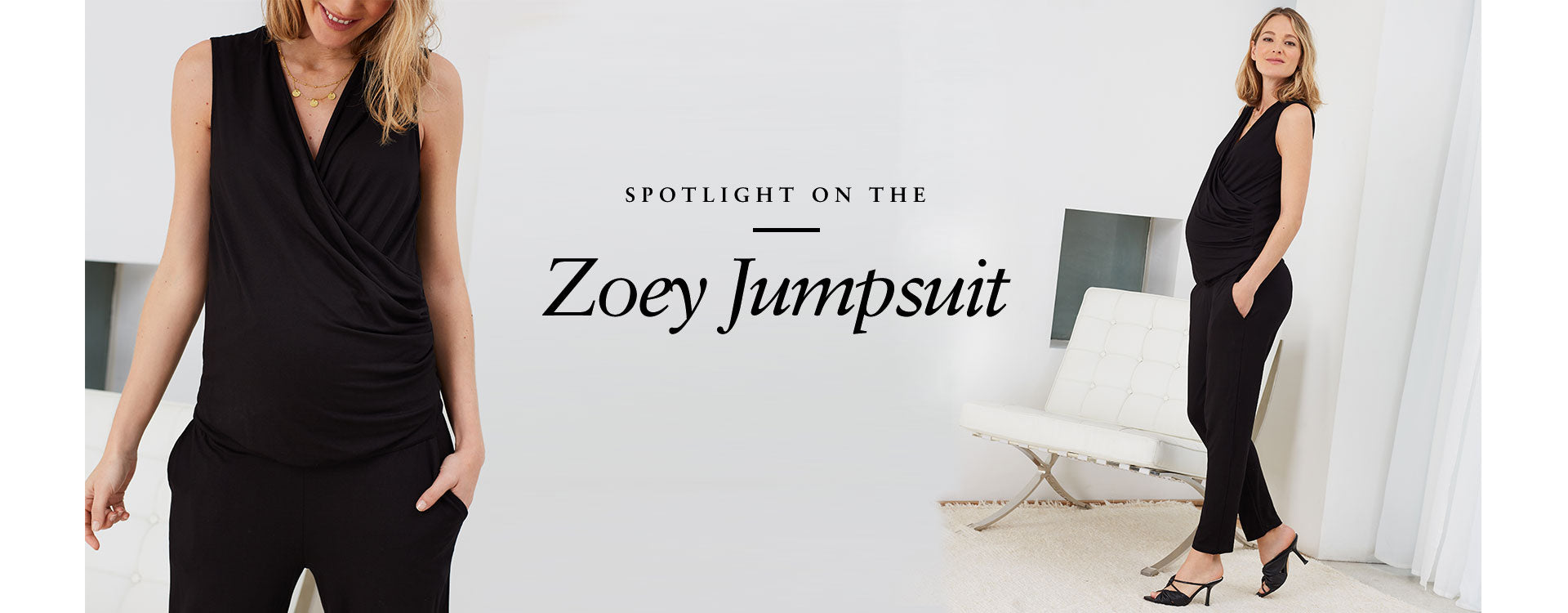 Spotlight on the Zoey Jumpsuit