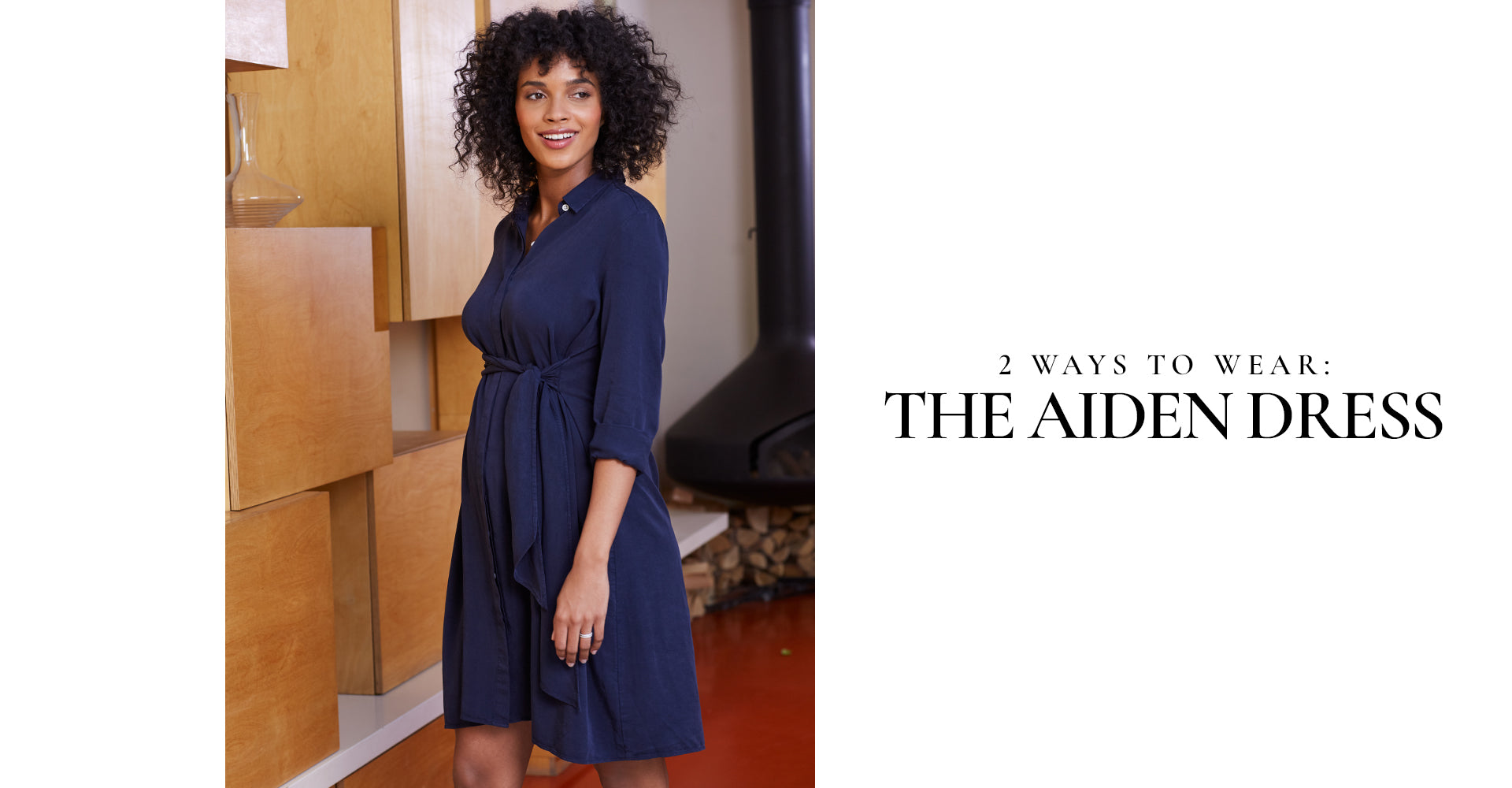 2 ways to wear: The Aiden Dress