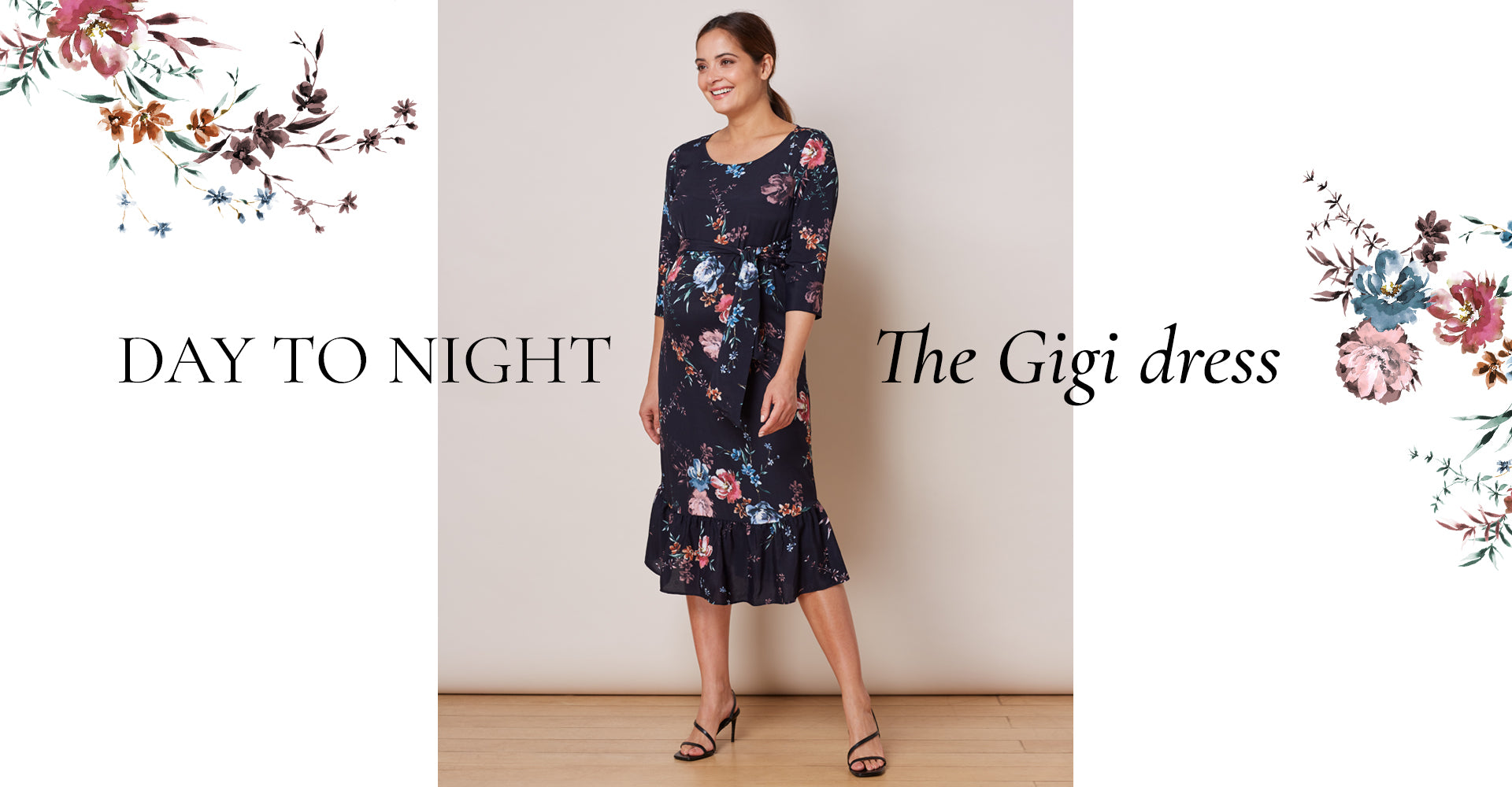 Day to night with the Gigi Dress