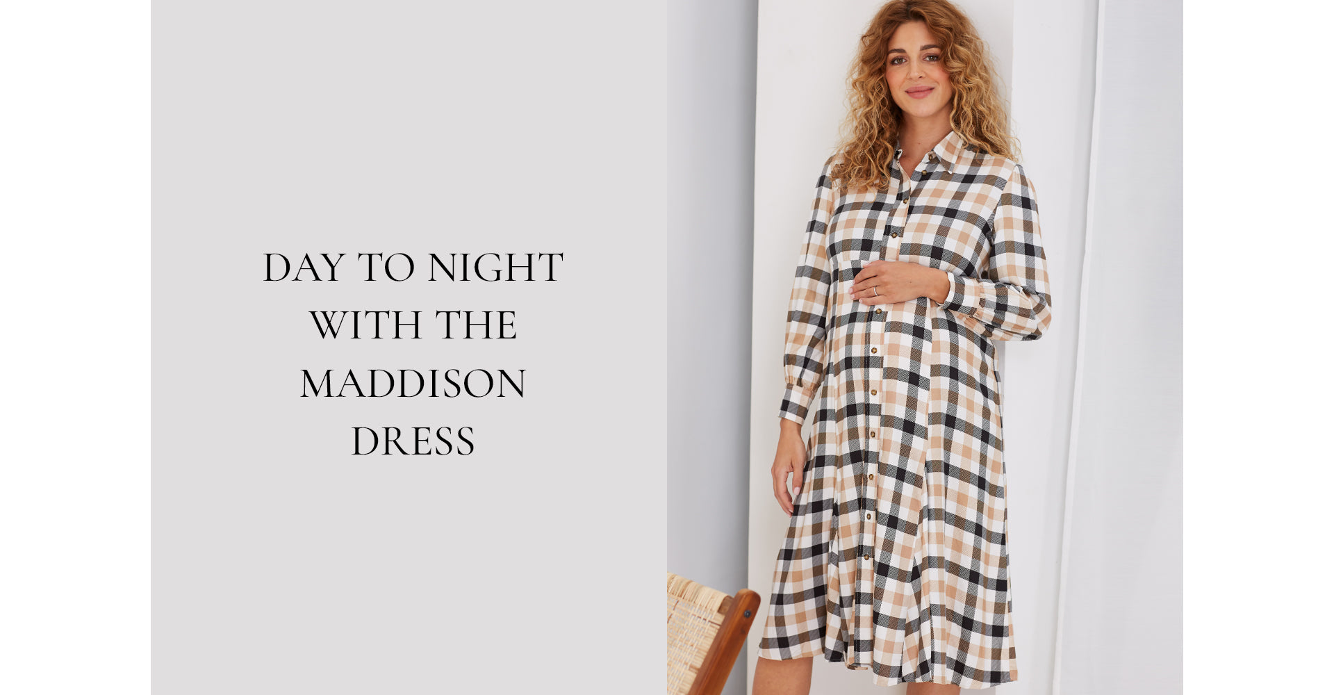 Day to night with the Maddison Dress