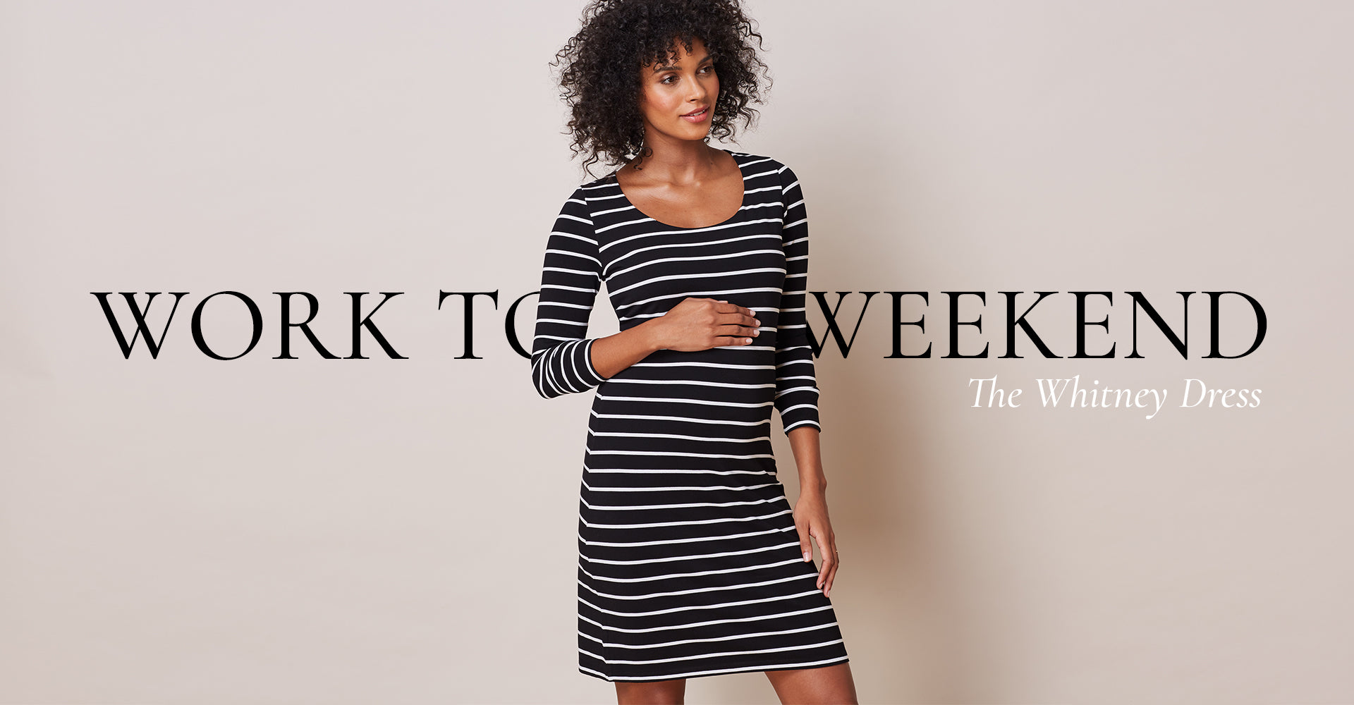 Work to weekend with the Whitney Dress