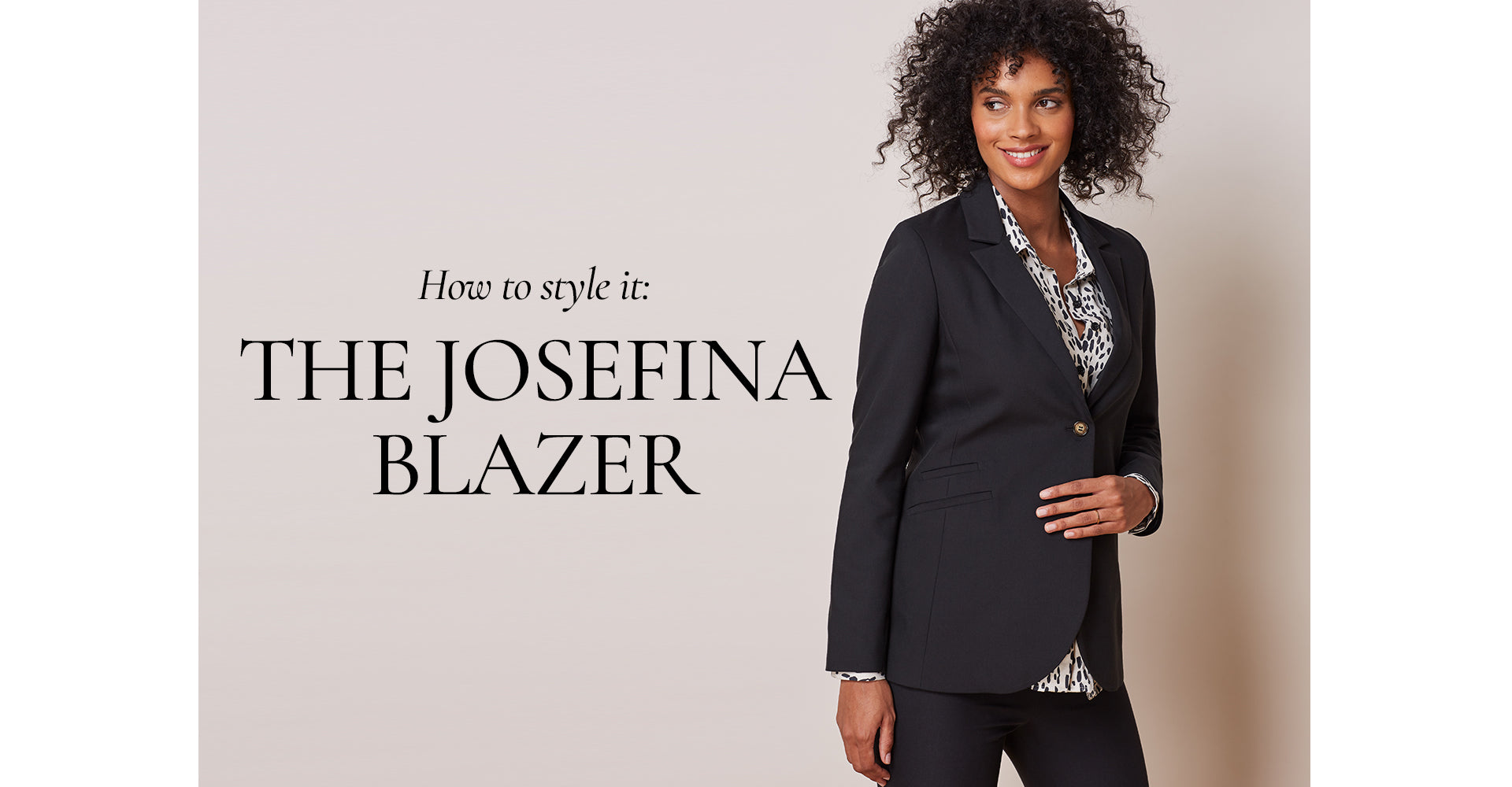 The Josefina Blazer