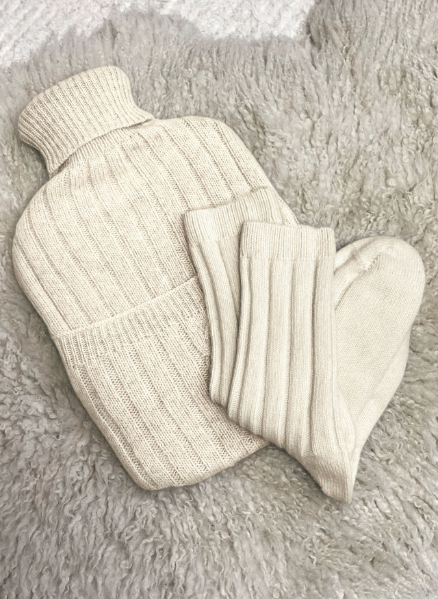 Eco Cashmere Hot Water Bottle Cover