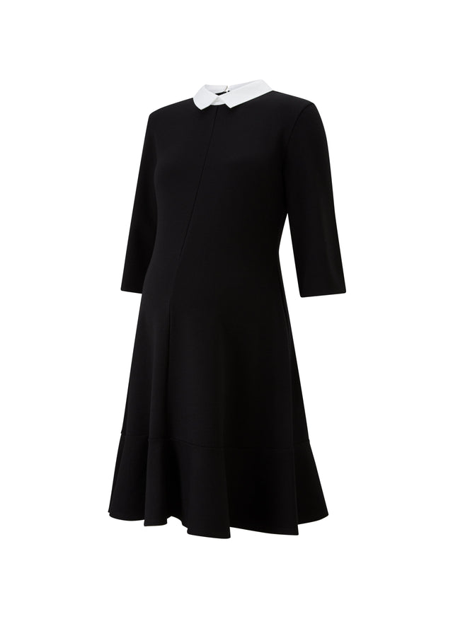Paige Maternity Contrast Dress