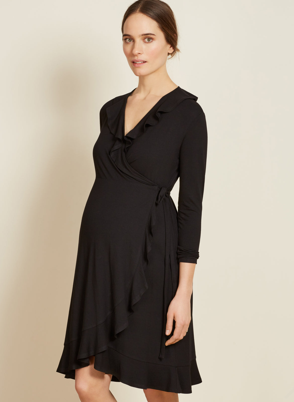 6a1d2137e1 Aurelia Maternity Wrap Dress – Isabella Oliver US