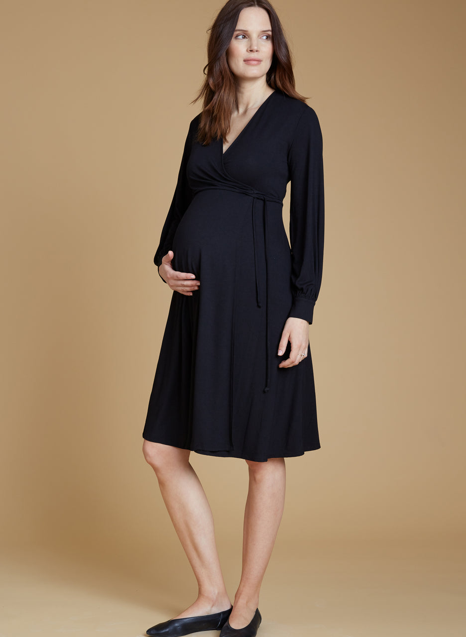 Romola Maternity Wrap Dress