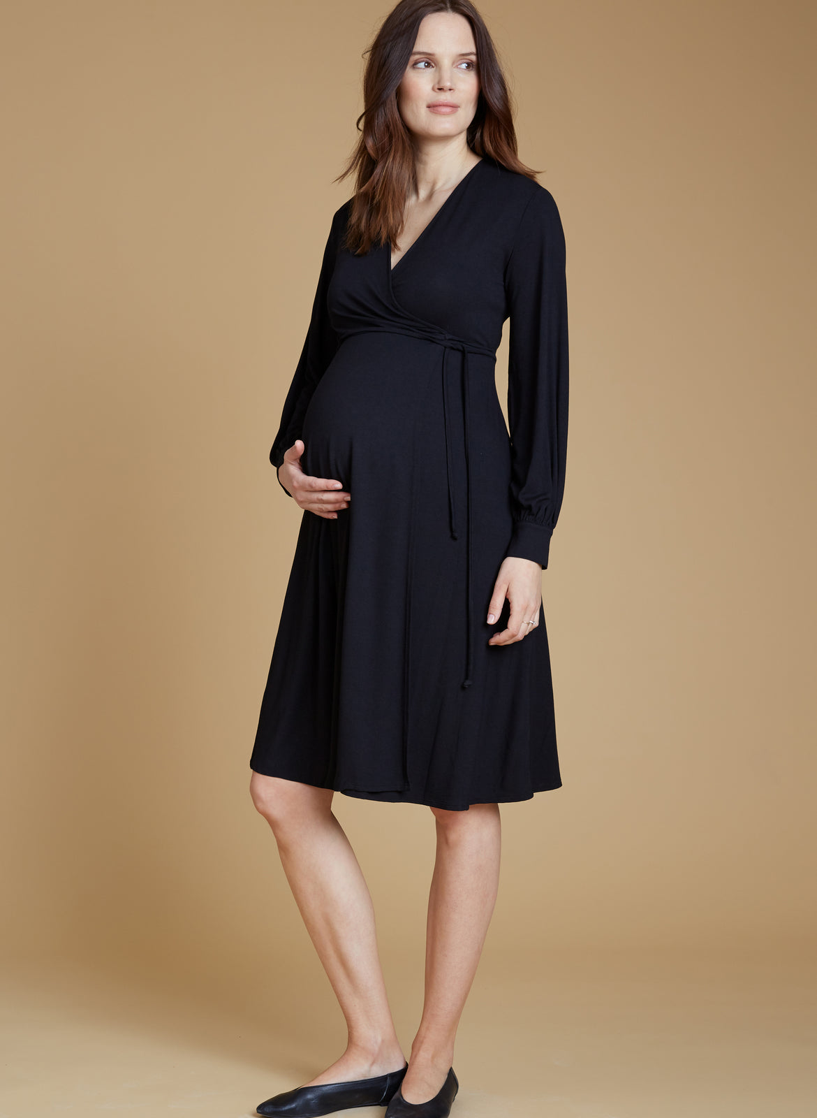 3d3e3b4c1e171 Romola Maternity Wrap Dress – Isabella Oliver US