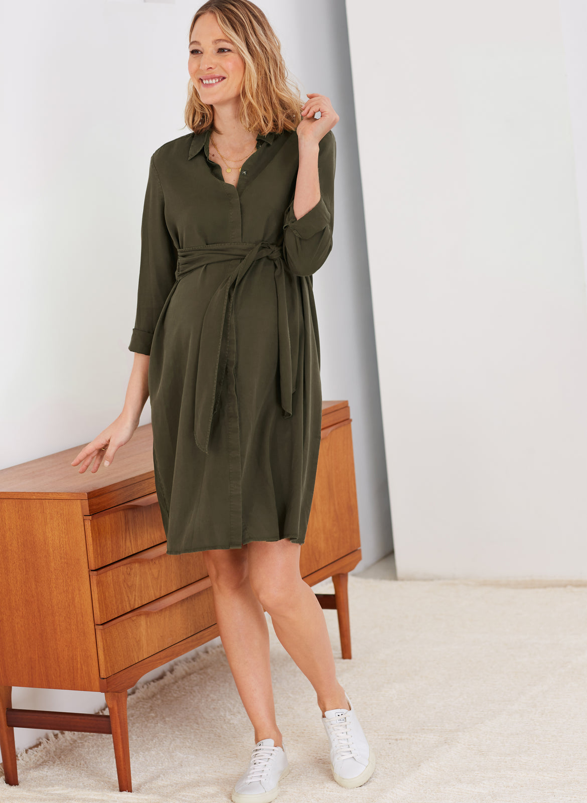 Aiden Maternity Dress Isabella Oliver Us