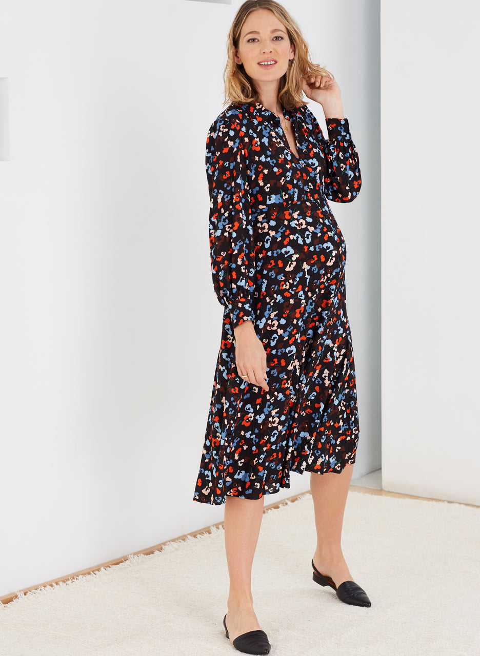 Cecelia Maternity Shirt Dress