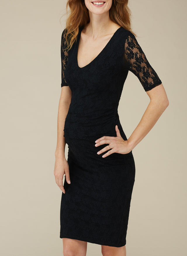 Devonshire Lace Maternity Dress