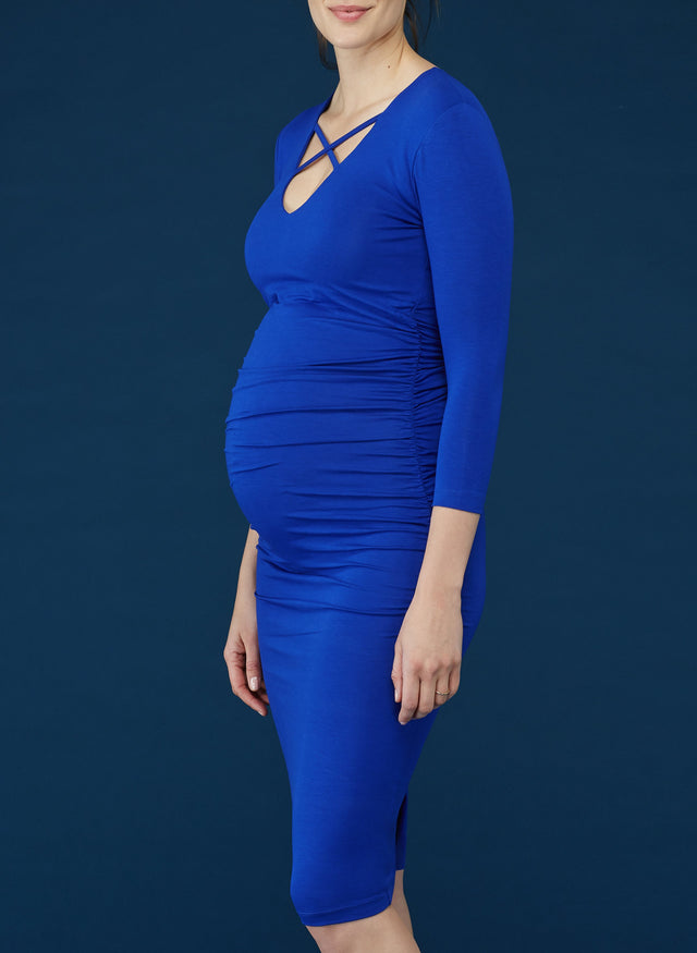 Pre-Loved Gale Maternity Dress by Isabella Oliver