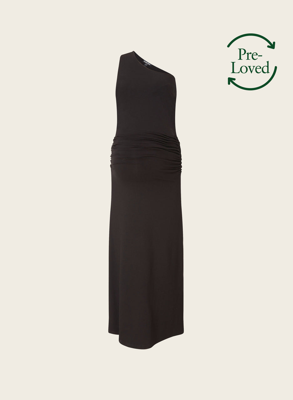 Pre-Loved Lise Maternity Maxi Dress by Isabella Oliver