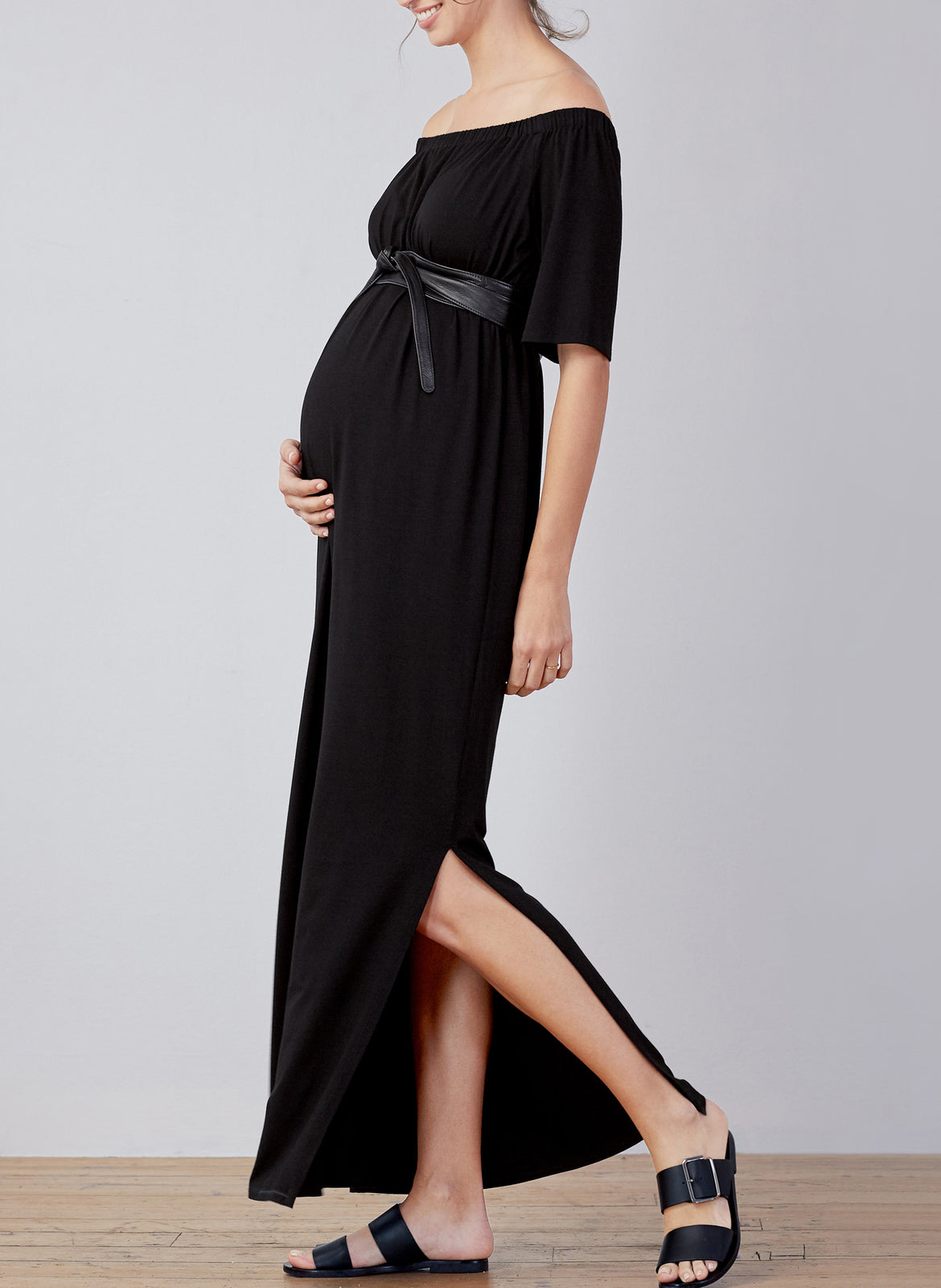 4a00d500464e3 Kari Maternity Maxi Dress – Isabella Oliver US