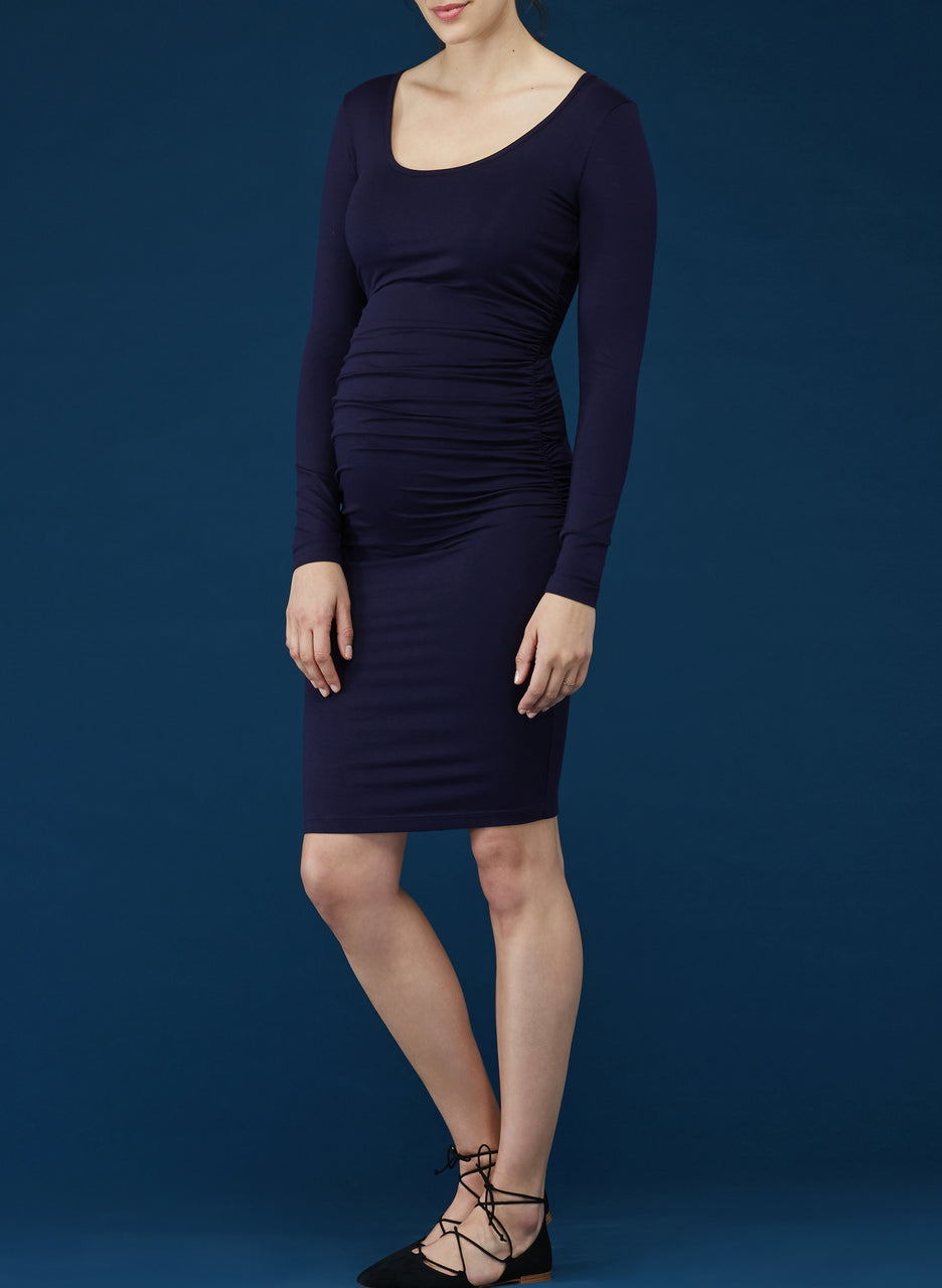 Eldon Maternity Midi Dress