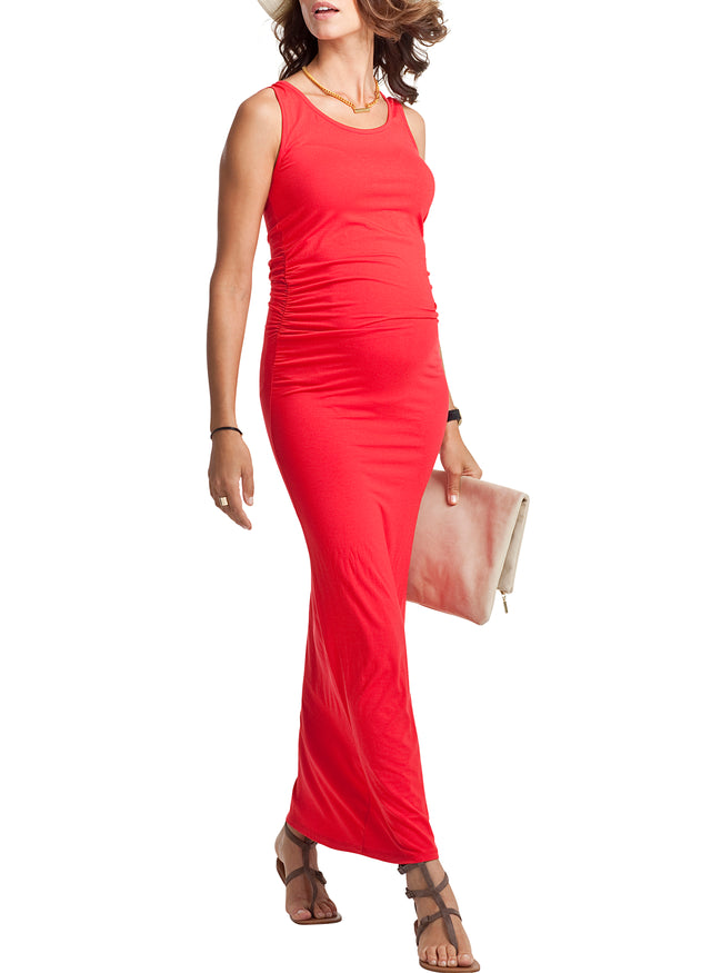 Lisle Maternity Maxi Dress