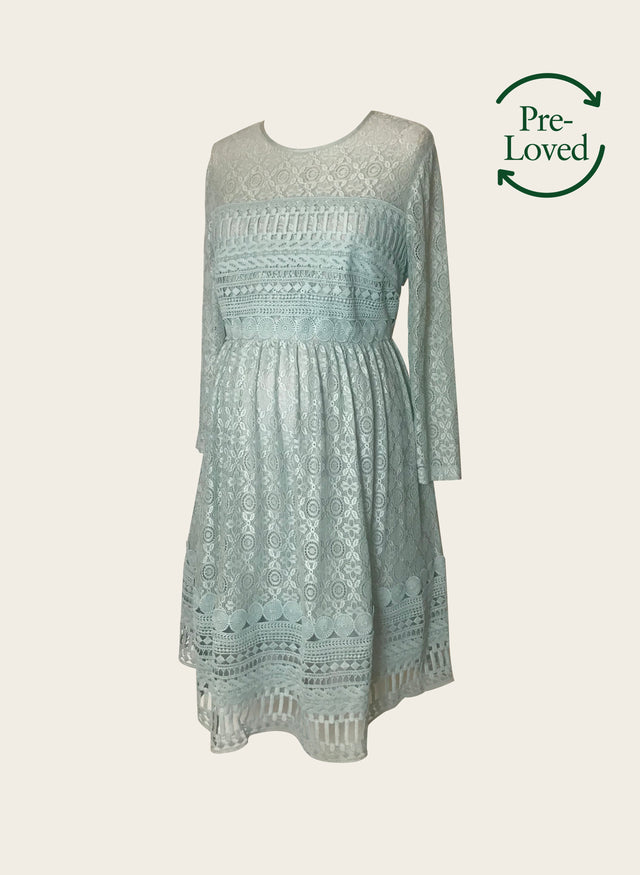 Pre-Loved Lace Dress by ASOS