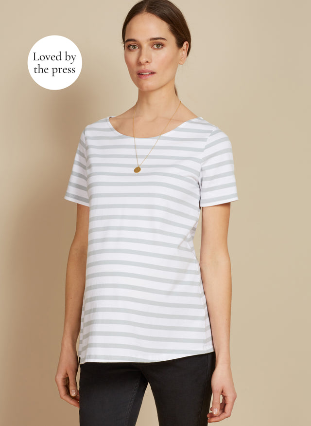 Jenny Stripe Maternity Top